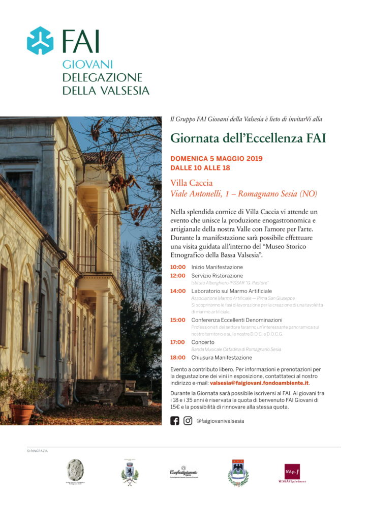 Villa Caccia 5 maggio 2019-FAI